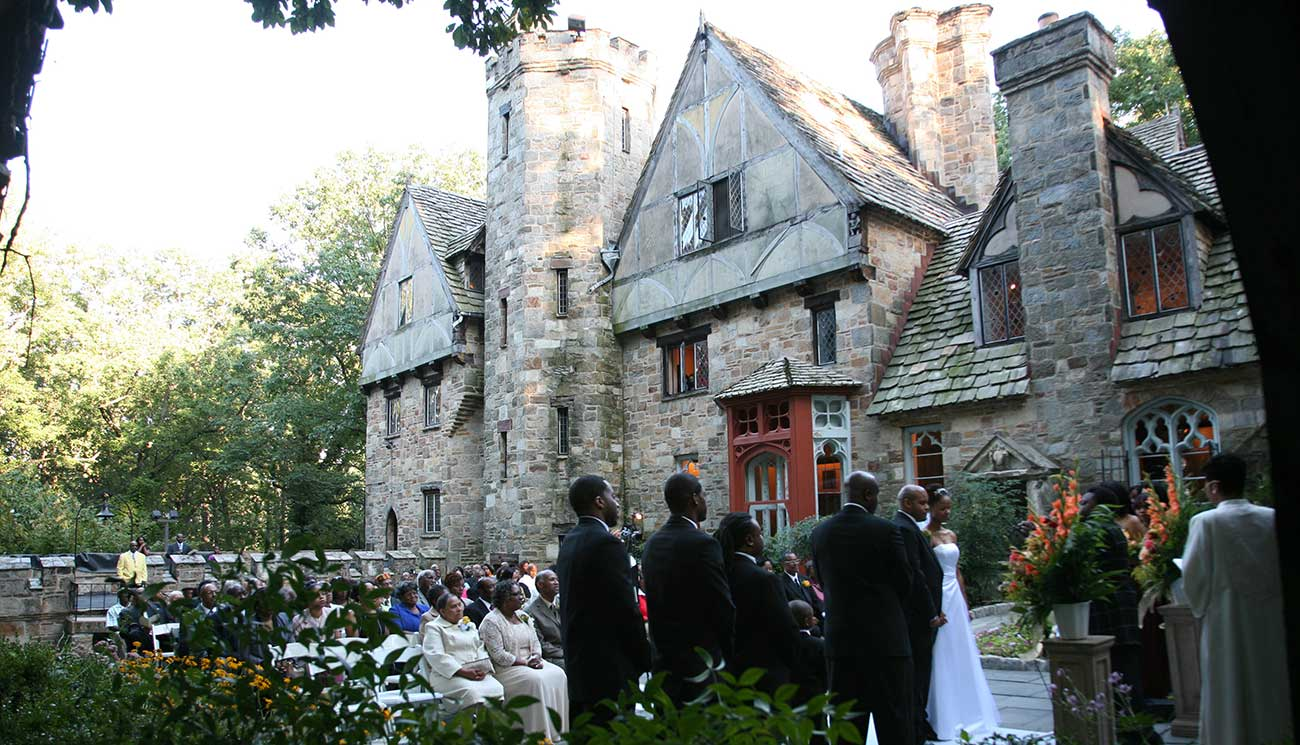 Cloisters Garden Wedding Ceremony